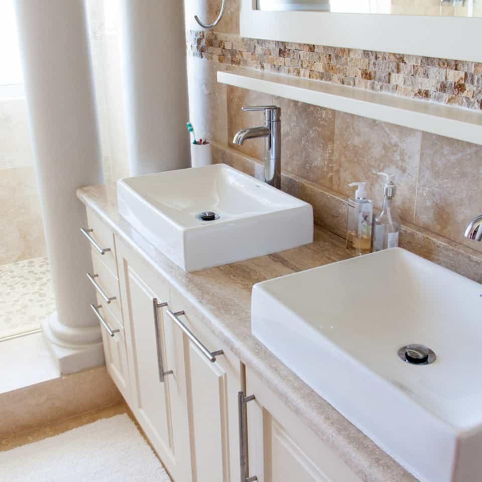Bathroom Counter Resurfacing in Tulsa